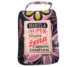 Albi Skládací taška na zip do kabelky se jménem Marcela 42 x 41 x 11 cm