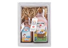 Bohemia Gifts & Cosmetics Kouzlo domova - Růžea šípek sprchový gel 250 ml + sůl do vody 110 g kosmetická sada