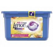 Lenor Color 2v1 Gold Orchid vůně vanilky, mimózy, růží a broskví gelové kapsle na praní barevného prádla 13 kusů