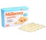 Müllerovy pastilky se zázvorema vitaminem C 24 kusů