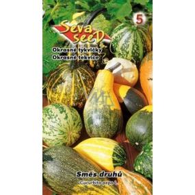 Seva Seed Tykev okrásná Směs - směs okrasných tykviček 3 g