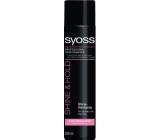 Syoss Shine & Hold pro silnou fixaci a zářivý lesk lak na vlasy 300 ml