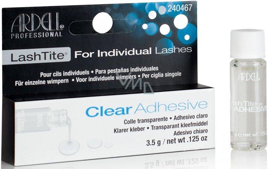 Ardell Clear Adhesive lepidlo na trsové řasy čiré 3,5 g