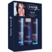 Ziaja Yego Men sprchový gel 300 ml + krém 50 ml + antiperspirant deodorant stick pro muže 60 ml, kosmetická sada