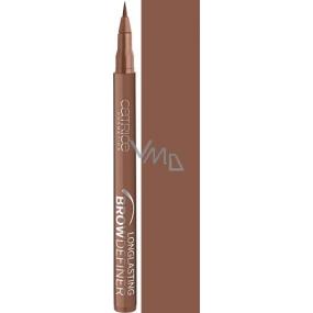 Catrice Longlasting Brow Definer dlouhotrvající pero na obočí 040 Browdly Presents… 1 ml