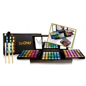 Be Chic! Future Art kosmetická paleta 180 očních stínů + 3 kosmetické štětce, kosmetická sada