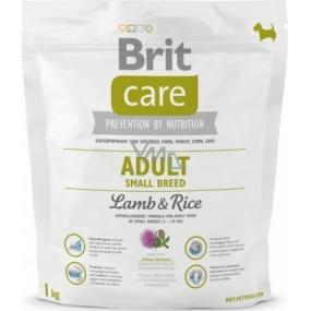 Brit Care Adult Small Breed Lamb & Rice superprémiové krmivo pro dospělé psy malých plemen 1 kg