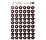 Arch Holografické dekorační samolepky květiny růžové