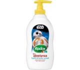 Radox Kids Star Wars sprchový gel a pěna pro děti dávkovač 400 ml