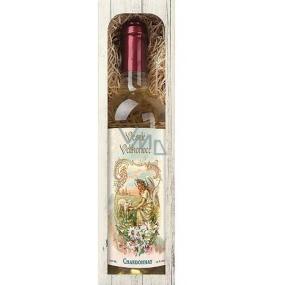 Bohemia Gifts & Cosmetics Chardonnay bílé Veselé Velikonoce dárkové víno 750 ml
