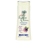 Le Petit Olivier Myrta a růžový jíl šampon pro rychle se mastící vlasy 250 ml