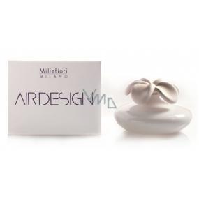 Millefiori Milano Air Design Difuzér květina nádobka pro vzlínání vůně pomocí porézní vrchní části velká bílá
