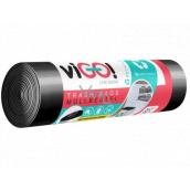viGO! Pytle na odpad černé, 24 µ, 60 litrů 60 x 70 cm 10 kusů