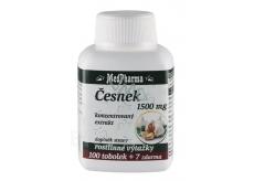 MedPharma Česnek koncentrovaný extrakt 1500 mg 107 tobolek