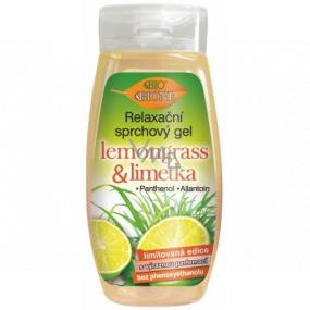 Bione Cosmetics Lemongrass & Limetka relaxační sprchový gel 250 ml