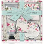 Baylis & Harding Královská zahrada sprchový a koupelový krém 130 ml + mýdlo 150 g + tělové máslo 100 ml, kosmetická sada