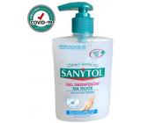 Sanytol Sensitive dezinfekční gel na ruce, hydratační ničí viry a bakterie 250 ml (AH1N1)