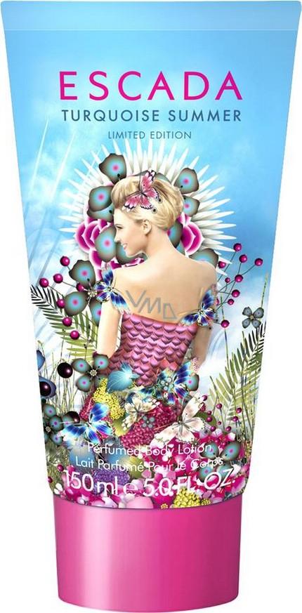Escada Turquoise Summer tělové mléko pro ženy 150 ml