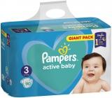 Pampers Active Baby Giant Pack 3 Midi 6-10 kg plenkové kalhotky 90 kusů