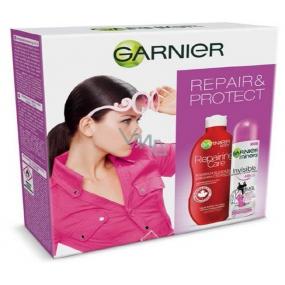 Garnier Repair regenerační tělové mléko pro velmi suchou pleť 250 ml + Protect Mineral Invisible deodorant sprej pro ženy 150 ml, kosmetická sada