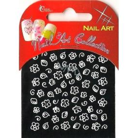 Absolute Cosmetics Nail Art nálepky na nehty s kamínky NT19W 1 aršík