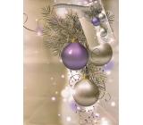 Anděl Taška vánoční dárková větvička, baňky M 23 x 18 x 10 cm