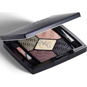 Dior 5 Couleurs Christmas Edition paletka 5ti očních stínů 576 Eternal Gold 6 g