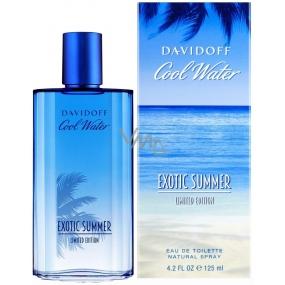 Davidoff Cool Water Exotic Summer Man toaletní voda 125 ml