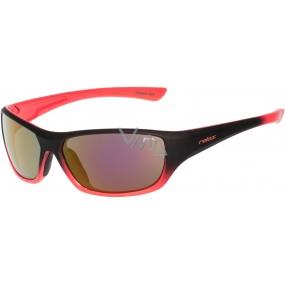 Relax Mona Sluneční brýle pro děti černo oranžové R3066B