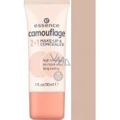 Essence Camouflage make-up a korektor 2v1 20 Nude Beige 30 ml
