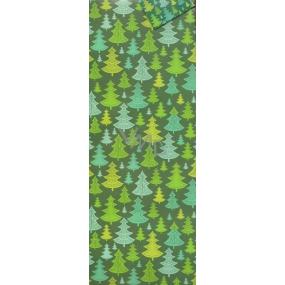 Nekupto Dárková papírová taška na láhev 33 x 10 x 9 cm vánoční 1258 50 WLH