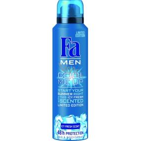 Fa Men Cool Me Up Icy Fresh Scent deodorant sprej pro muže 150 ml