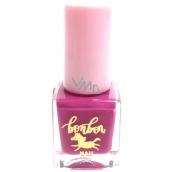 Dor Cosmetics BonBon na vodní bázi lak na nehty pro děti 02 fialová 5 ml