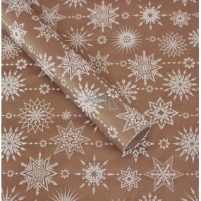 Zöwie Dárkový balicí papír 70 x 150 cm Vánoční Nordic měděný