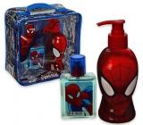 Marvel Spiderman toaletní voda pro děti 50 ml + sprchový gel dávkovač 250 ml, dárková sada