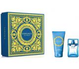 Versace Eau Fraiche Man toaletní voda pro muže 30 ml + sprchový gel 50 ml, dárková sada