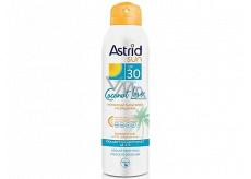 Astrid Sun Coconut Love OF30 neviditelný suchý sprej na opalování 150 ml