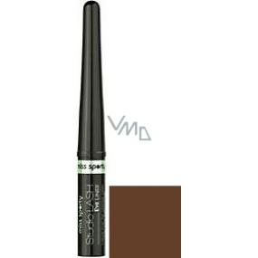 Miss Sporty Studio Lash tekuté oční linky 002 Dark chocolate 3 ml