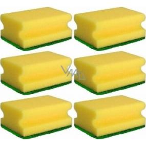 Tinky Houbička na nádobí tvarovaná 9 x 6 x 4 cm 6 kusů