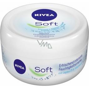 Nivea Soft Creme svěží hydratační krém pro celé tělo 300 ml