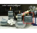 Lima Zimní třpyt Vánoční pohlazení vonná svíčka krychle 65 x 65 mm 1 kus