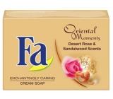 Fa Oriental Moments Desert Rose & Sandalwood Scents toaletní mýdlo 90 g