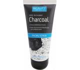 Beauty Formulas Charcoal Facial Scrub peeling s aktivním uhlím na obličej a krk 100 ml