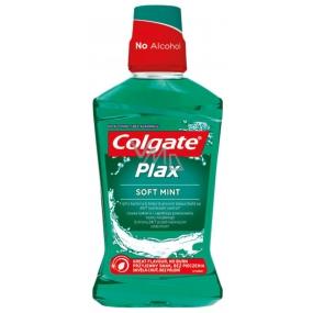Colgate Plax Multi-Protection Soft Mint ústní voda proti zubnímu plaku 500 ml