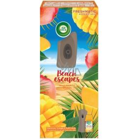 Air Wick Freshmatic Beach Escapes Maui mangové šplíchnutí automatický osvěžovač sprej 250 ml