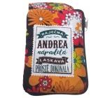 Albi Skládací taška na zip do kabelky se jménem Andrea 42 x 41 x 11 cm