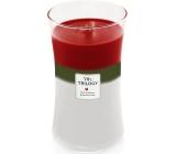 WoodWick Trilogy Winter Garland - Zimní girlanda vonná svíčka s dřevěným knotem a víčkem sklo velká 609 g