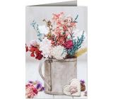 Nekupto Přání k narozeninám Květy pro štěstí 115 x 170 mm 3614 J