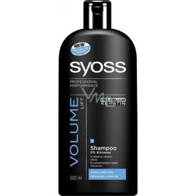 Syoss Volume Lift maximální objem šampon na vlasy 500 ml