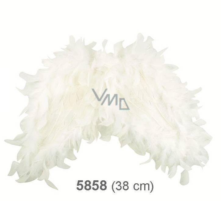 Andělská křídla z peří 38 cm - VMD parfumerie - drogerie 8f044cf100
